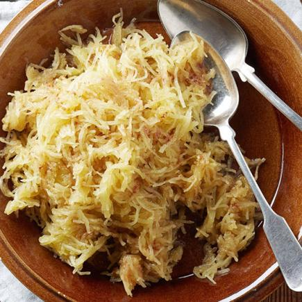 Double-Spiced Spaghetti Squash