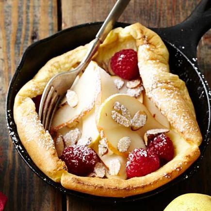 Finnish Baked Pancakes