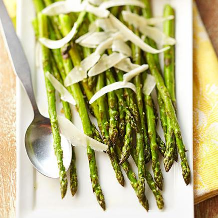 Garlic-Roasted Asparagus