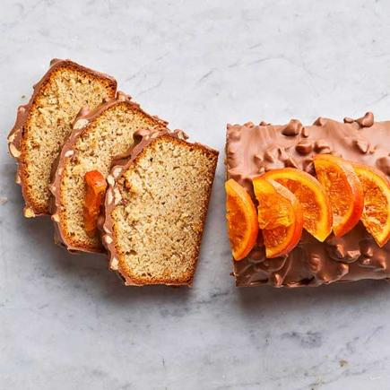 Hazelnut and Milk Chocolate Pound Cake
