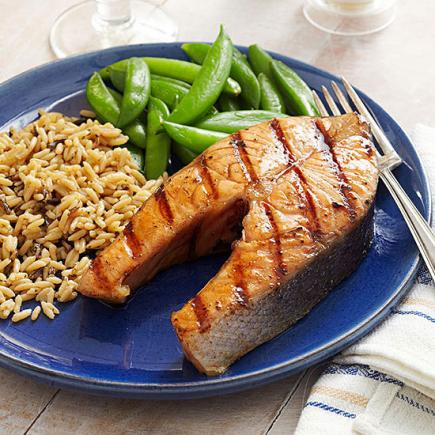 Honey-Bourbon Salmon
