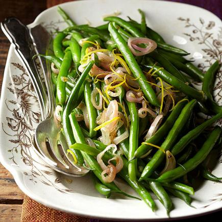 lemony green beans - Best Christmas Side Dishes