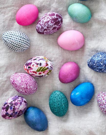 Eye-catching eggs