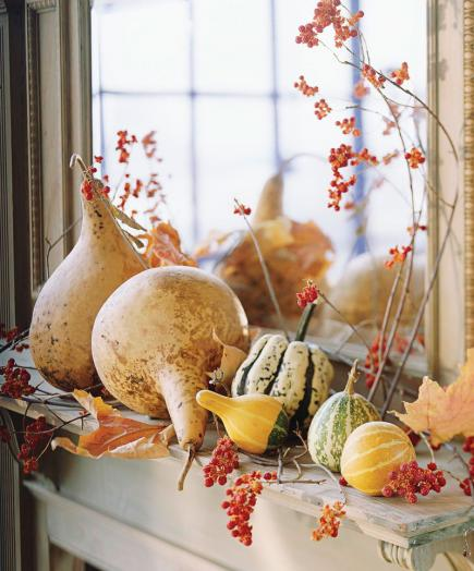 28 Fall Mantel Ideas – Fall Mantel Decorations