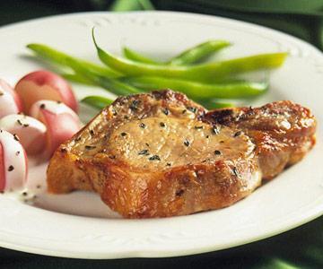 Thyme Pork Chops