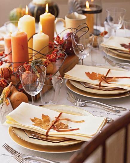 7 ideas for beautiful fall table decorations | midwest living