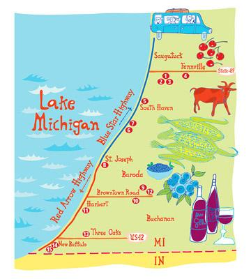 Ultimate Food Trails In Wisconsin And Michigan Midwest Living