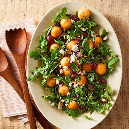 Polka-Dot Arugula Salad