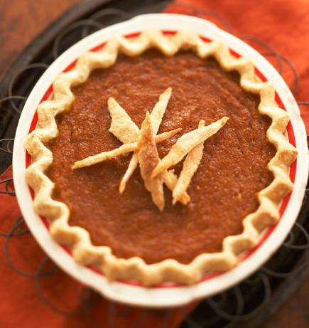 Pumpkin Chess Pie