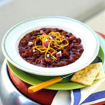 Ground Beef and Salsa Chili