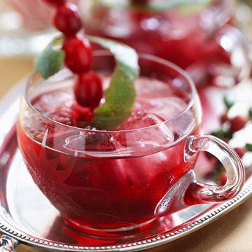 spirited cranberry rum punch - Christmas Punch Ideas