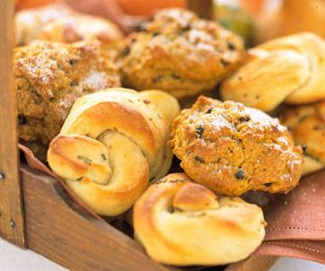 Best Potato Rolls and Pumpkin-Currant Scones
