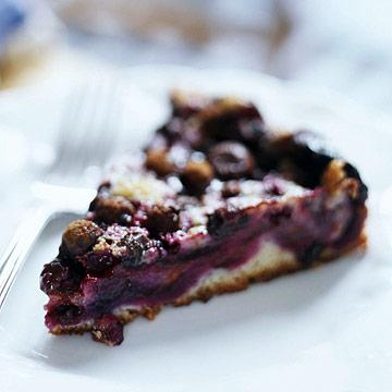 Bear-chaser Blueberry Pie