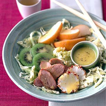 Duck and Asian Pear Salad