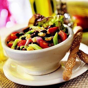 Garden Corn and Black Bean Salad