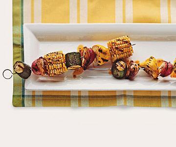 Buttery Mixed Veggie Kabobs
