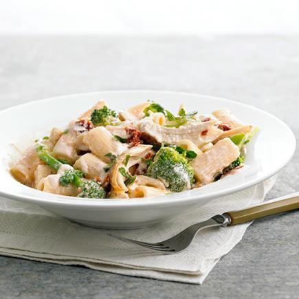 Chicken-Broccoli Macaroni and Cheese