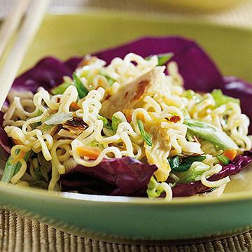 Shirataki pasta salad recipe