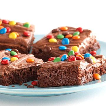 Co's Candy-Bar Brownies