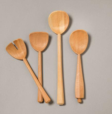 wooden utensils