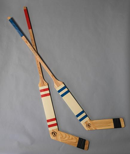 decorative goalie stick