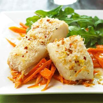 Parmesan-Crusted Fish