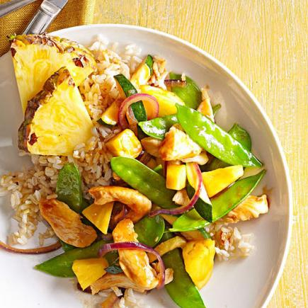 45 easy summer dinner recipes midwest living pineapple chicken stir fry forumfinder Gallery