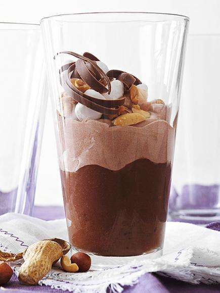 Quick and Easy Dessert Recipes—Rocky Road Parfaits