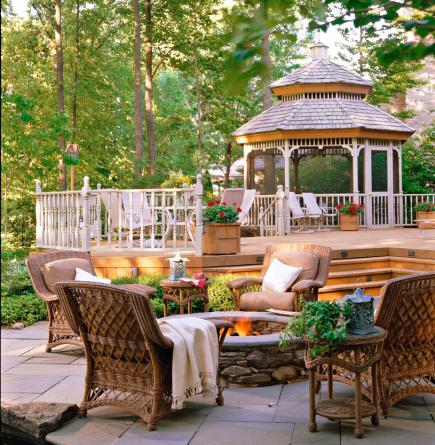 Decking furniture ideas Black Deck To Impress Midwest Living 30 Ideas To Dress Up Your Deck Midwest Living