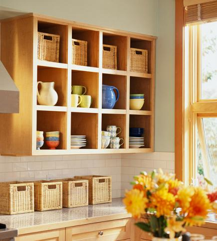 20 ideas for storage with baskets and bins midwest living rh midwestliving com Canvas Storage Baskets for Shelves Large Storage Baskets for Shelves