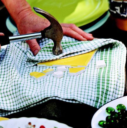 Create Mosaic Magic In Your Garden