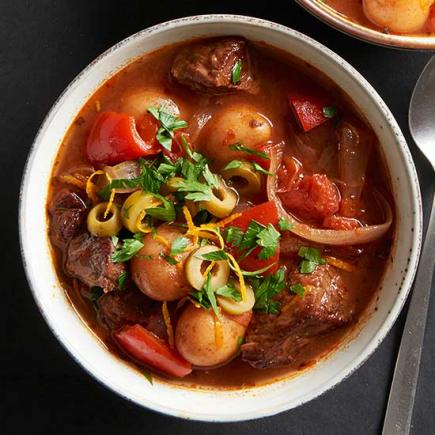 Spanish-Style Beef Stew