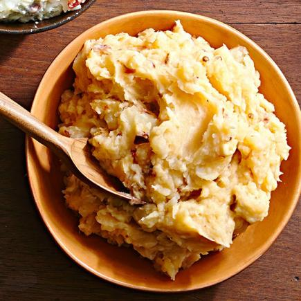 Spicy Double-Smoked Mashed Potatoes