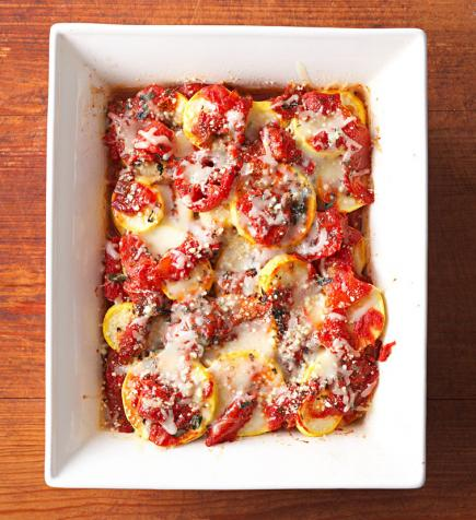 Squash and Tomato Bake
