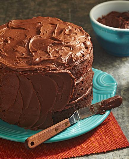 Three Tiered Chocolate Cake