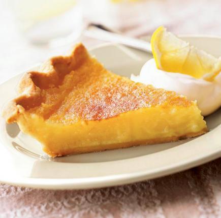 Lemon Pudding Cake With Fresh