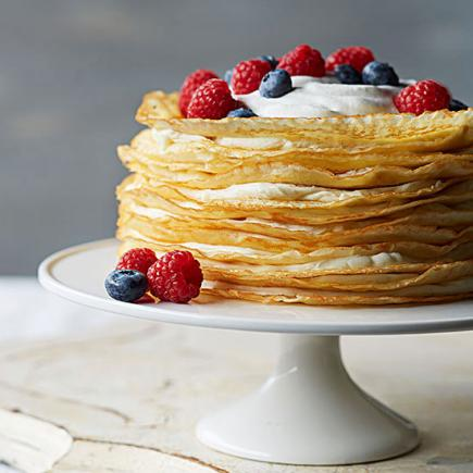 Easter Recipes Desserts Vanilla Bean Crepe Cake