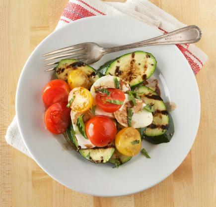 Zucchini Caprese