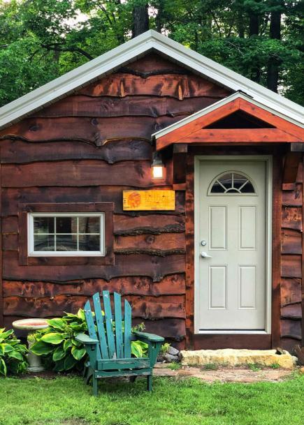 Rochelle Biegel Hoffman cabin