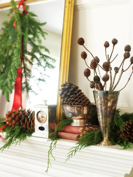 start with what you have the easiest mantel decorations