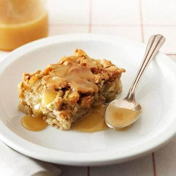 Rosemary Ward's Apple Cake With Butter-Rum Sauce