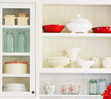 Create Plenty Of Display. No Country Kitchen ...