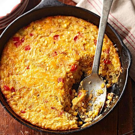 Southwest Corn Pudding