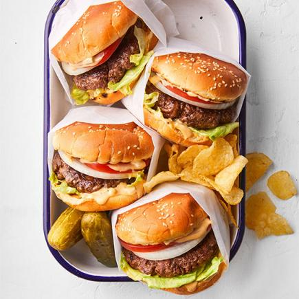 Summertime Smashed Burgers