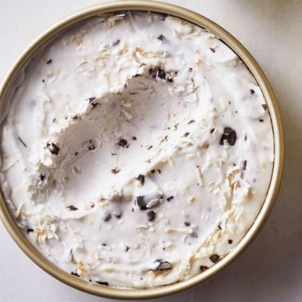 Vegan Coconut Chip Ice Cream