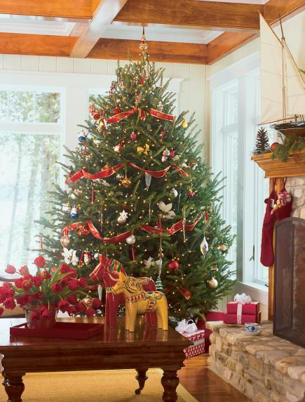 continue for more great holiday decorating ideas - Unique Christmas Decorating Ideas