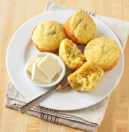 Confetti Zucchini Muffins