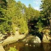Amnicon Falls State Park, Superior, Wisconsin