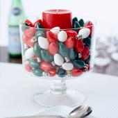 Christmas centerpiece ideas: christmas lights