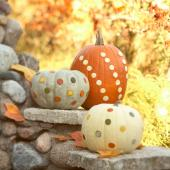 Pumpkin Decorating: Knock-Out Design